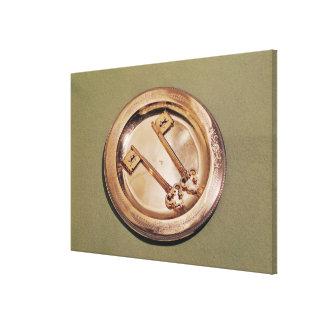 Llaves de Gante en una placa Lona Envuelta Para Galerías