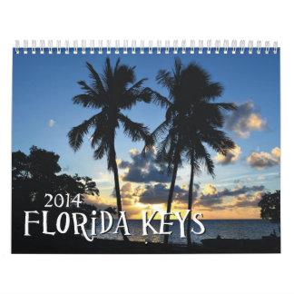 Llaves de la Florida Calendarios De Pared