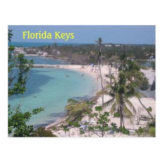 Llaves de la Florida Tarjetas Postales