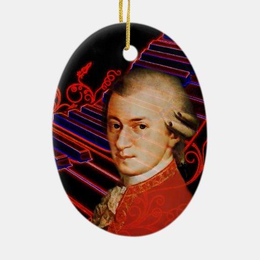 Llaves de Mozart_ Adorno Ovalado De Cerámica