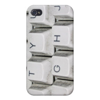 Llaves de teclado de la cereza iPhone 4 carcasa
