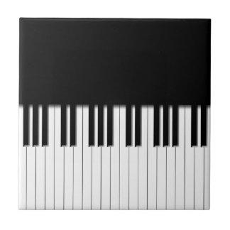 Llaves de teclado de piano teja  ceramica