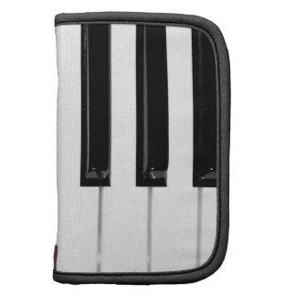Llaves de teclado de piano organizadores