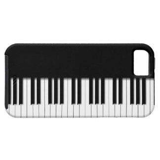 Llaves de teclado de piano iPhone 5 funda