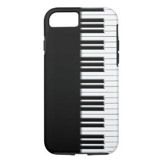 Llaves de teclado de piano funda iPhone 7