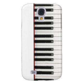 Llaves de teclado de piano funda para galaxy s4