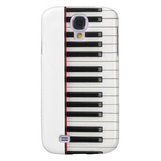 Llaves de teclado de piano samsung galaxy s4 cover