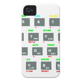 Llaves de teclado del espectro de Sinclair ZX Case-Mate iPhone 4 Cobertura