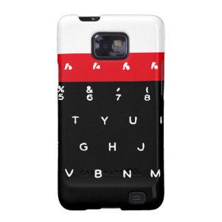 Llaves de teclado micro de la BBC Samsung Galaxy SII Carcasa