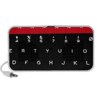 Llaves de teclado micro de la BBC iPod Altavoz