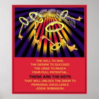 llaves del éxito posters