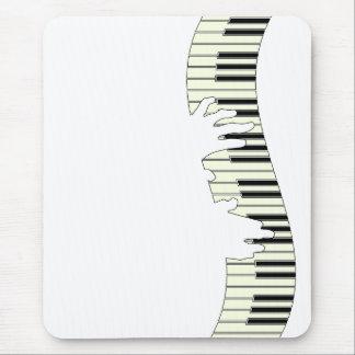 LLAVES DEL PIANO ALFOMBRILLA DE RATÓN