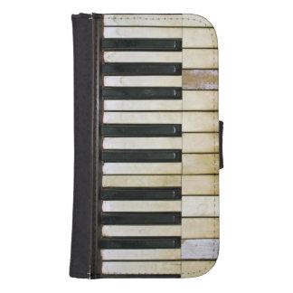 Llaves del piano billeteras para teléfono
