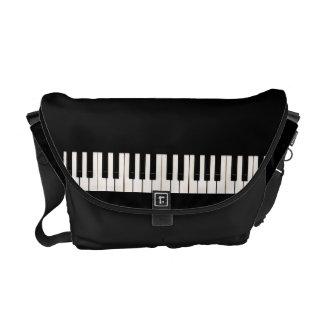 Llaves del piano bolsa de mensajeria