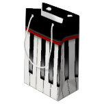 Llaves del piano bolsa de regalo pequeña