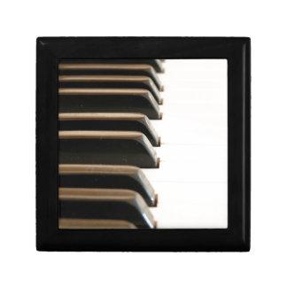 Llaves del piano cajas de regalo