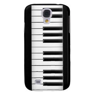 Llaves del piano/de teclado: caso del iPhone 3G Funda Para Galaxy S4