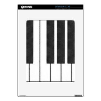 ¡Llaves del piano en la llave de mí! iPad Skin