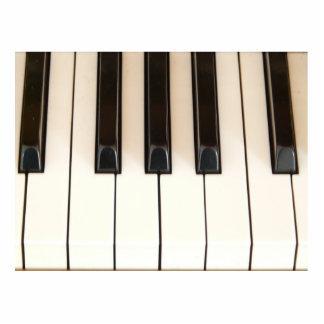 Llaves del piano escultura fotografica