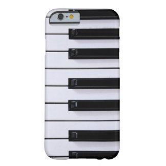 Llaves del piano funda de iPhone 6 barely there