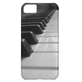 Llaves del piano funda para iPhone 5C