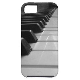 Llaves del piano funda para iPhone SE/5/5s