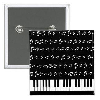Llaves del piano pin cuadrada 5 cm