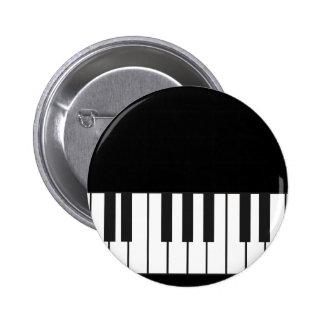 Llaves del piano pin redondo de 2 pulgadas