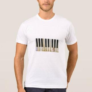 Llaves del piano camisetas