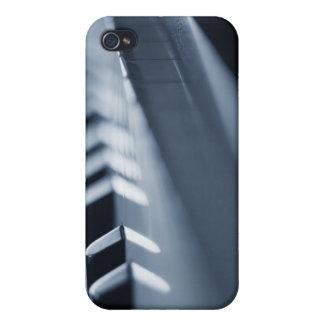 Llaves detalladas 2 del piano iPhone 4 carcasa