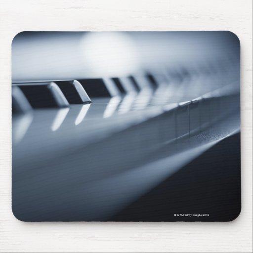 Llaves detalladas 2 del piano tapetes de ratones