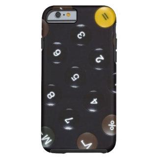 Llaves en una calculadora funda de iPhone 6 tough
