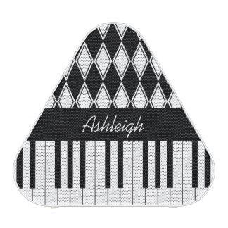 Llaves personalizadas y diamantes del piano altavoz bluetooth