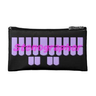Llaves púrpuras de la máquina de Steno del