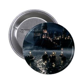 Llegada en Hogwarts Pin Redondo De 2 Pulgadas
