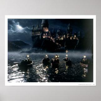 Llegada en Hogwarts Póster