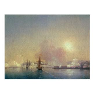 Llegada en la bahía de Sebastopol, 1852 Postal