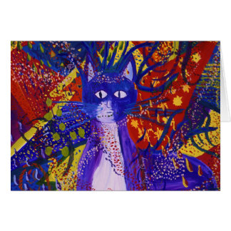 Llegada - fiesta moderno abstracto del amor tarjeton