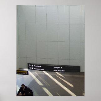 Llegadas y salidas posters