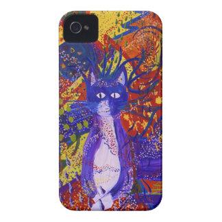 Llegando, fiesta moderno abstracto del amor del iPhone 4 carcasa