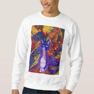 Llegando, fiesta moderno abstracto del amor del suéter