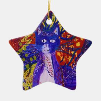 Llegando - fiesta salvaje en rojo amarillo y azul ornamentos para reyes magos