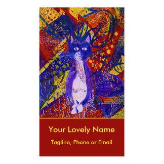Llegando, poder moderno abstracto del fiesta del tarjetas de visita
