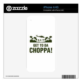 Llegue a DA Choppa Calcomanía Para iPhone 4S