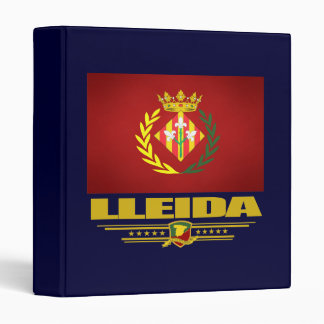 Lleida (Lerida) 3 Ring Binder