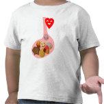 Llena de PANza, contento del corazón Camiseta