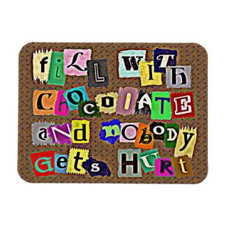 LLENE del imán del CHOCOLATE…