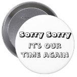Llene el botón 1 triste triste pin