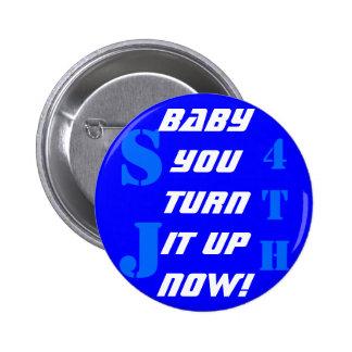 Llene el botón pin redondo de 2 pulgadas