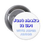Llene la sacudida del botón él pin
